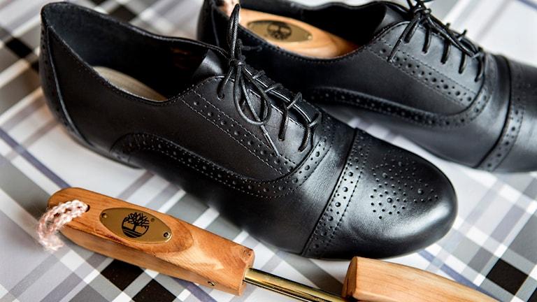 Skoblock kan göra susen för dina skor (arkivbild). Foto: Christine Ohlsson/TT