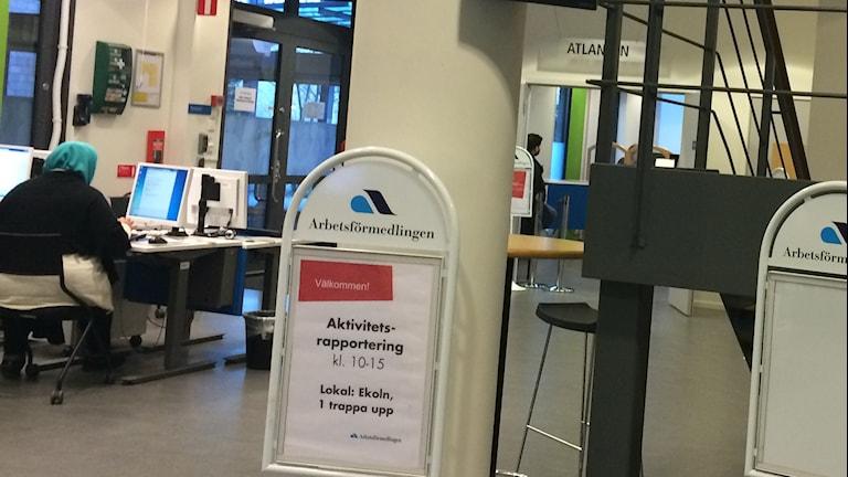 Jobben blir ännu fler i Uppland, enligt arbetsförmedlingens senaste prognos. Foto: Ulla de Verdier/SR.
