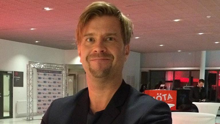 P4 Upplands Bosse Pettersson. Foto: Sofia Söderholm/Sveriges Radio