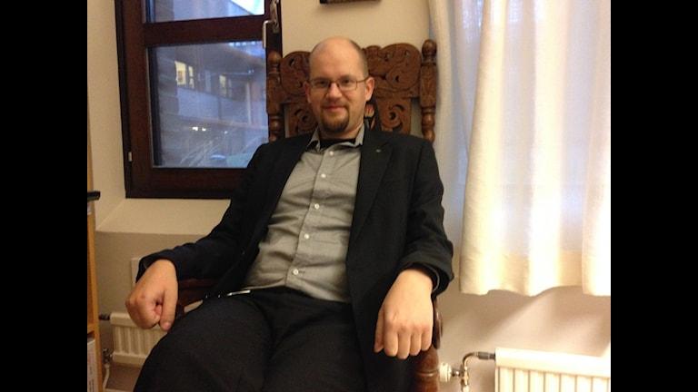 Mikael Höök universitetslektor vid Uppsala universitet