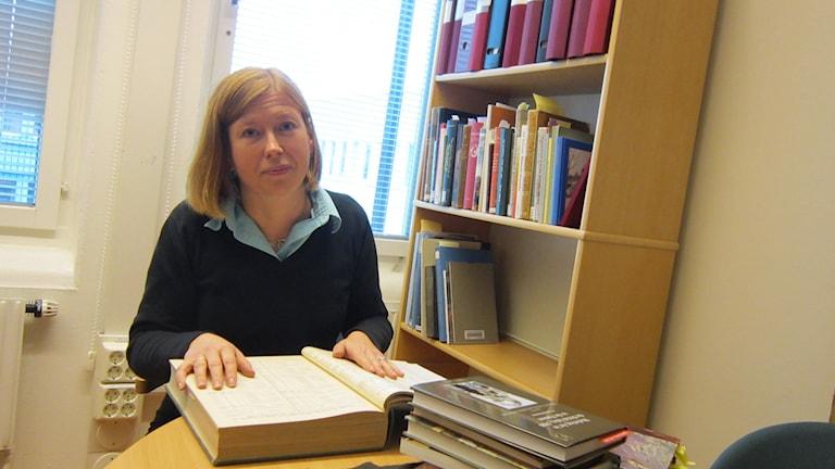 Sofia Murhem. Foto: Stefan Hesserud Persson / SR
