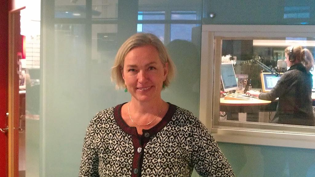 Johanna Hermann Lundberg. Foto: August Bergkvist/Sveriges Radio