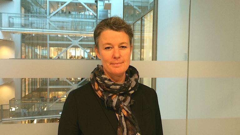 Ingrid Anderbjörk är fastighet- och exploateringschef i Uppsala kommun.