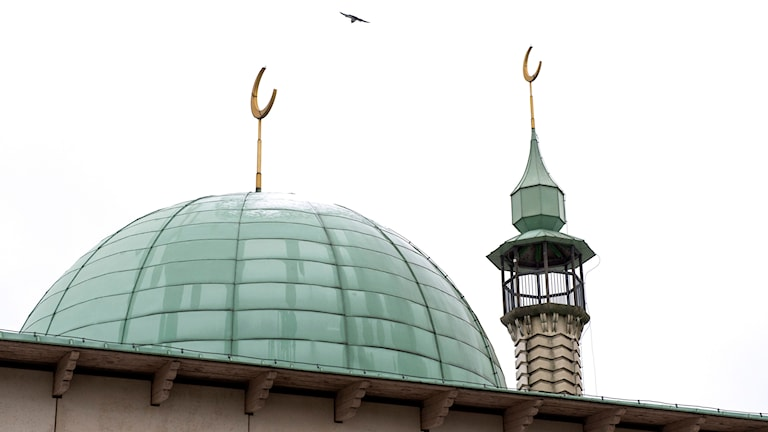 Moskén i Uppsala. Foto: Pontus Lundahl/TT