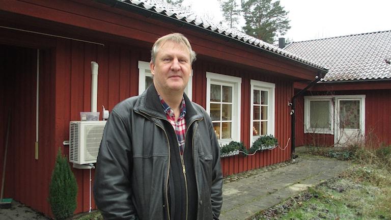 Stefan Kronståhl är föreståndare och delägare av HVB-hemmet Lövstagården. Foto: Martin Hult/Sveriges Radio.