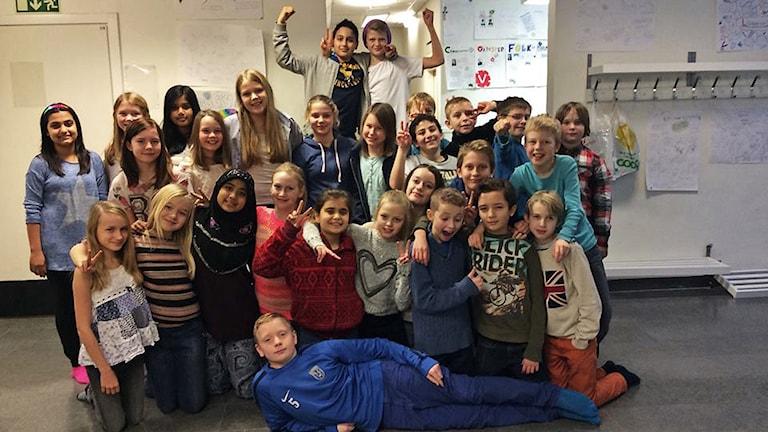 Hågadalsskolan klass 5A
