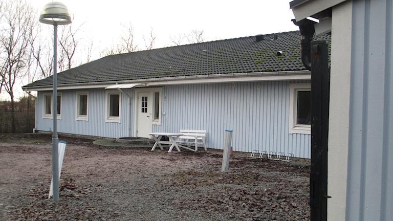 Ett HVB-hem i Jälla som drivs av Frösunda. Foto: Martin Hult/Sveriges Radio.