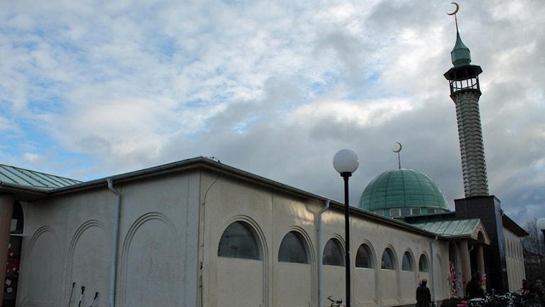 Moskén i Uppsala. Foto: Sanna Karlsson / Sveriges Radio