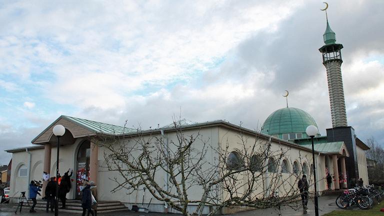 Moskén i Uppsala. Foto: Sanna Karlsson/Sveriges Radio