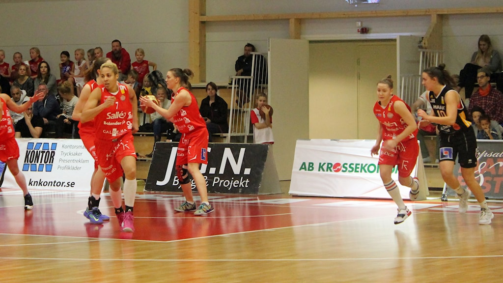 Sallén Basket. Foto: Karima Edell/Sveriges Radio