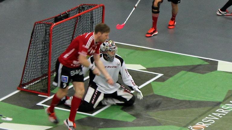 Viktor Klintsten från en tidigare match.