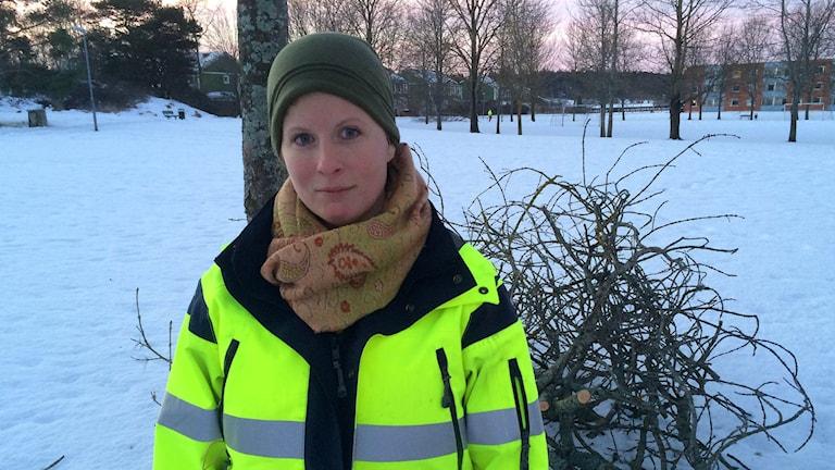 Anna Sääf. projektledare stadsbyggnadsförvaltningen i Uppsala Foto: Åsa Wistedt/P4 Uppland
