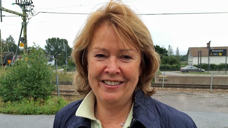 Charlotte Wall, Lokala Partiet i Heby. Foto: Sveriges Radio