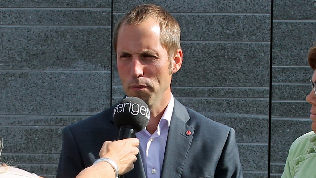 Erik Pelling, socialdemokraterna. Foto: Erik Thyselius/Sveriges Radio