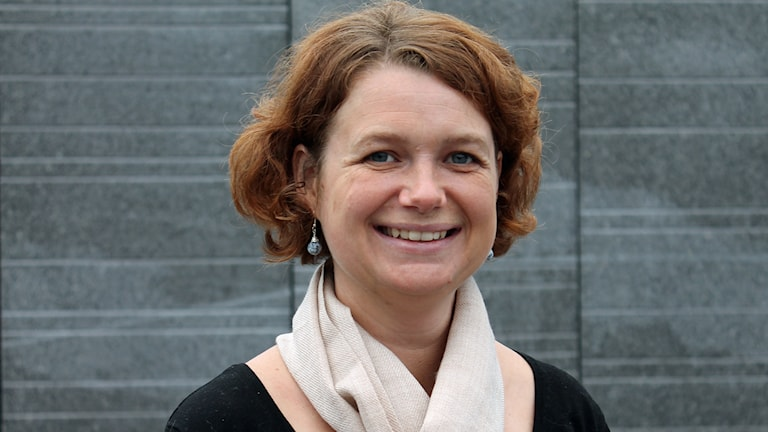 Anna-Karin Klomp, Kristdemokraterna. Foto: Erik Thyselius/Sveriges Radio