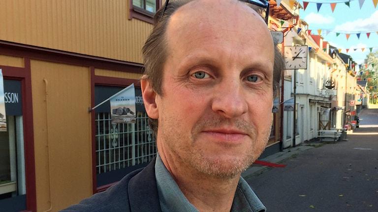 Lars O Holmgren, Borgerligt alternativ. Foto: Erik Thyselius/Sveriges Radio