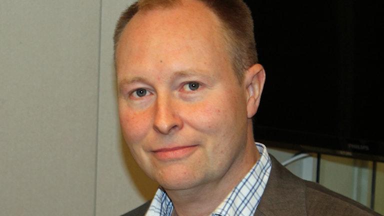 Johan Edstav, Miljöpartiet. Foto: Erik Thyselius/Sveriges Radio