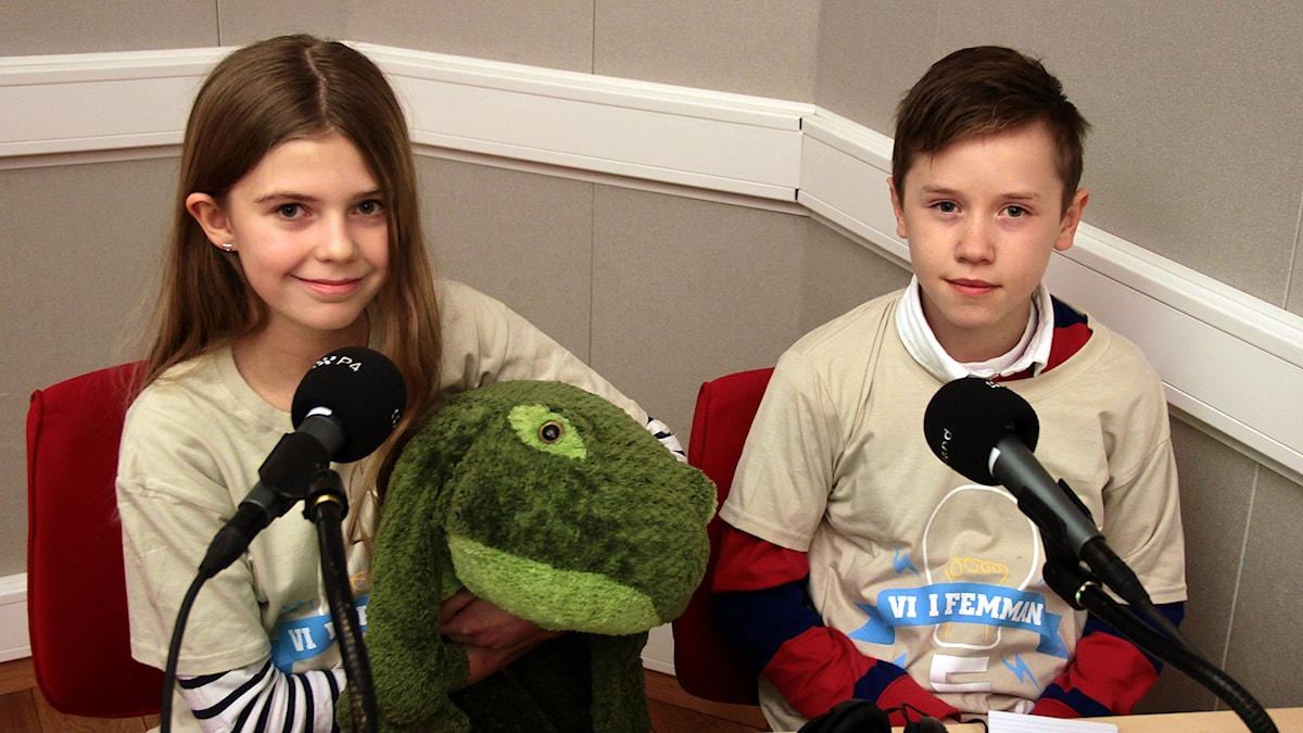Maja & Isak är i semifinal Foto:Thomas Artäng/Sveriges Radio