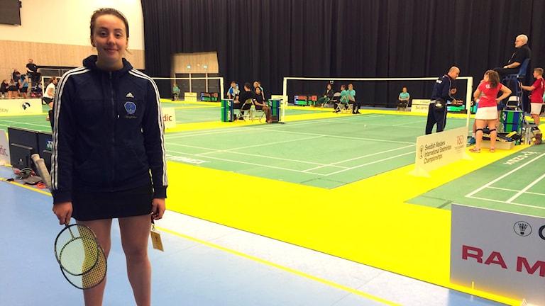 Swedish Masters är Hanna Sidvalls första internationella tävling på seniornivå.