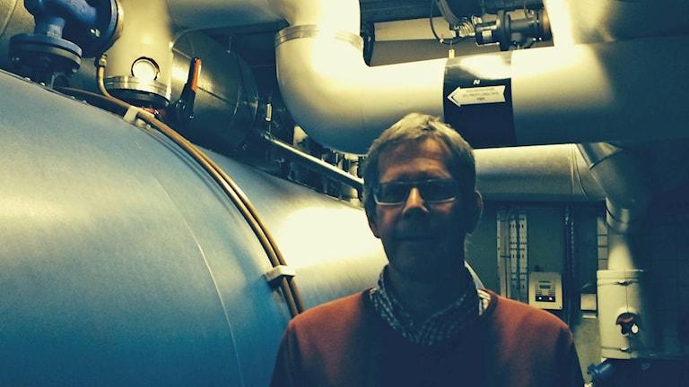 Tord Engström, chef för begravningsverksamheten i Uppsala pastorat. Foto: Ulla de Verdier/Sveriges Radio