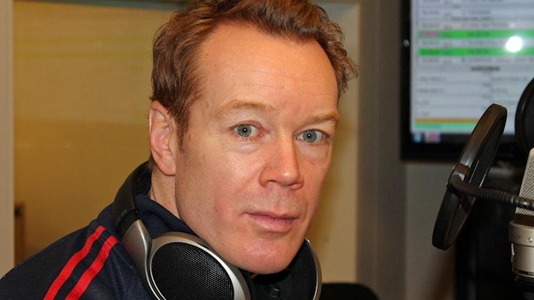 Niklas Eriksson, Almtunas tränare. Foto: Erik Thyselius/Sveriges Radio