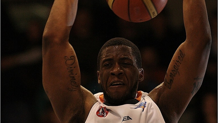 Dwight Burke. Foto:Uppsala basket.
