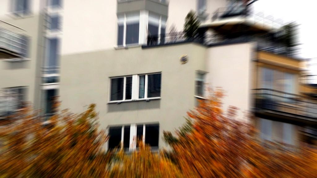 Lägenhetshus. Foto: Hasse Holmberg/TT