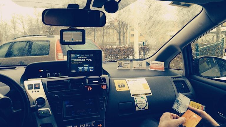 Många har klagat på den nya färdtjänstordningen. Foto: Ulla de Verdier/Sveriges Radio