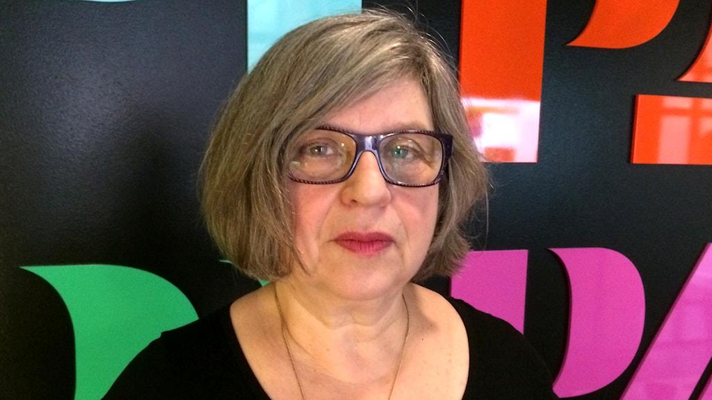 Susanne Levin. Foto: Åsa Wistedt/Sveriges Radio