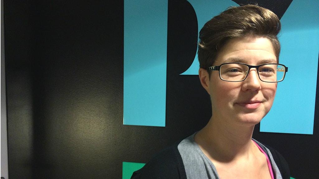 Lisa Skiöld på Barnombudsmannen i Uppsala. Foto: Stefan Hesserud Persson
