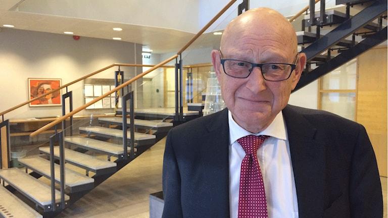 Fredrik von Arnold, chef för tingsrätten i Uppsala