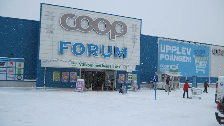 Coop Forum i Stenhagen.