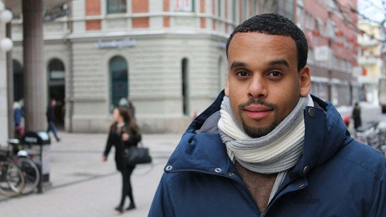 Mohammed Tahir, ordförande för Svenska muslimer för fred och rättvisa i Uppsala. Foto: Tomas Magnusson/Sveriges Radio