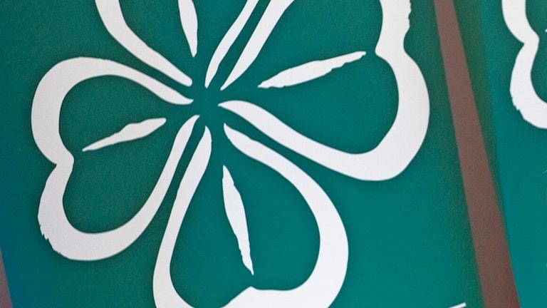 Centerpartiets logotyp. Foto: Claudio Bresciani/TT