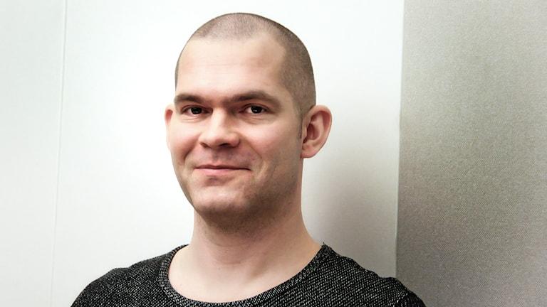 Erik Zackrisson letar i rymden Foto:Thomas Artäng/Sveriges Radio
