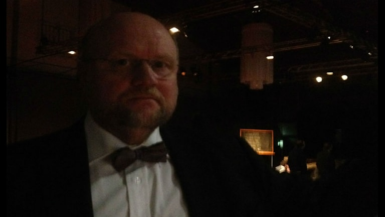 Författaren Ola Larsmo. Foto: Åsa Nylander/SR Uppland