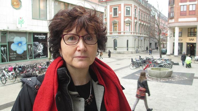Ilona Szatmari Waldau (V). Foto: Niklas Clarkson/Sveriges Radio