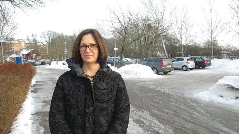 Anneli Löfling, Knivsta.nu. Foto: Niklas Clarkson/Sveriges Radio