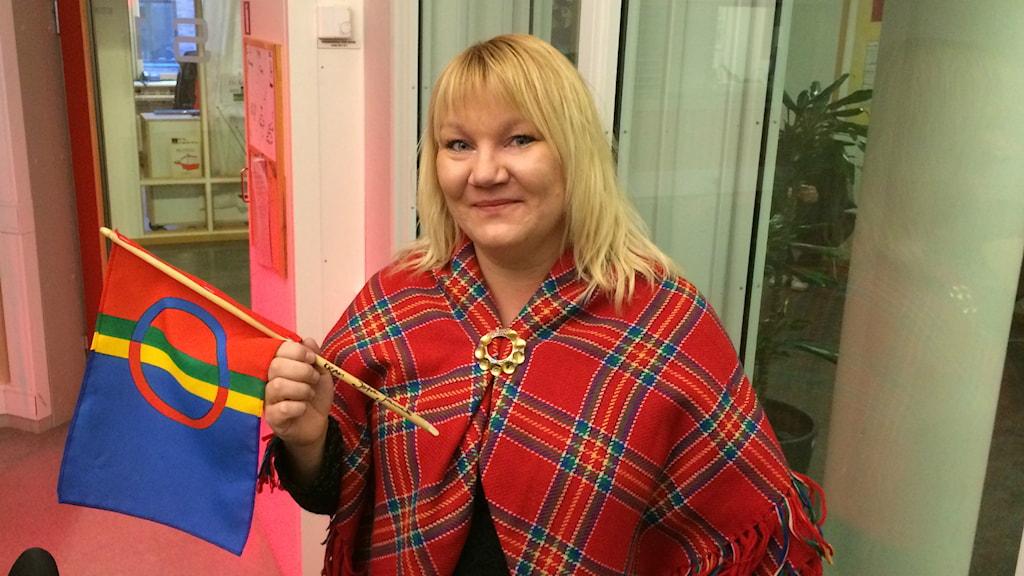 Eva-Lisa Tuoremaa Hämäläinen. Foto: Mona Wahlund/SR