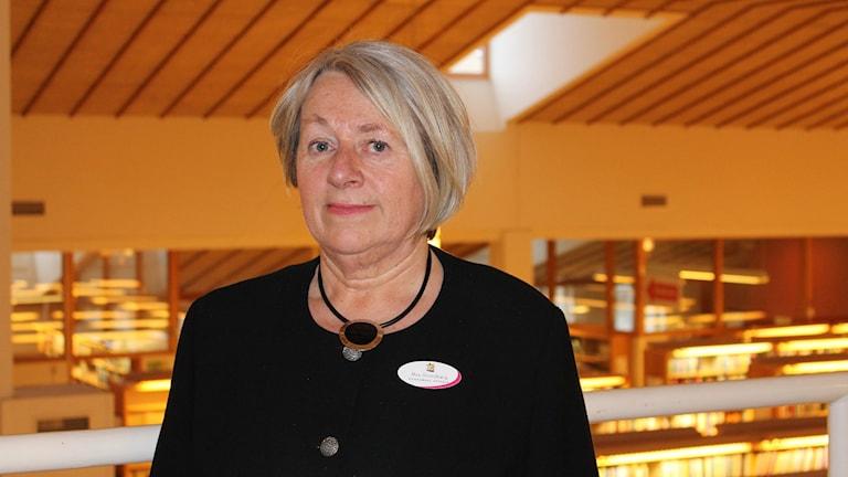 May Strandberg, rådgivare på Konsument Uppsala. Foto: Jonas Ahlman/Sveriges Radio