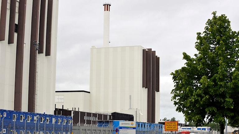 Två av Forsmarks reaktorer. Foto: Bertil Ericson/TT