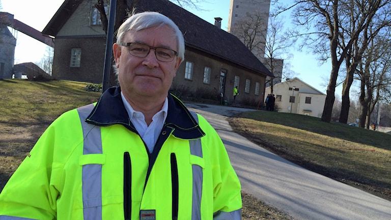 Ralf Nordén, Dannemora minerals koncernchef. Foto: Stefan Hesserud Persson/Sveriges Radio