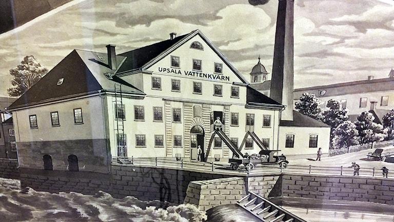 660 år på samma plats Foto:Uppsala Industriminnesförening