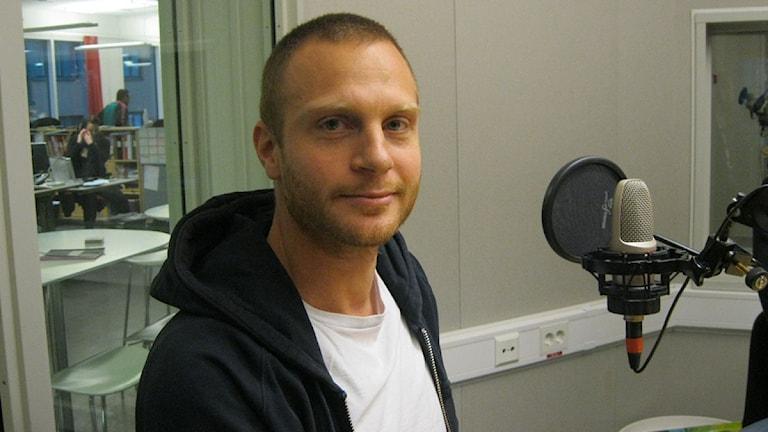 Andreas Brännström. Foto: Bosse Pettersson/Sveriges Radio