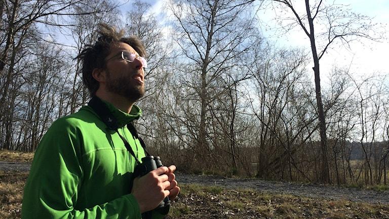 Marcus Hedblom, forskare på SLU. Foto: Stefan Hesserud Persson