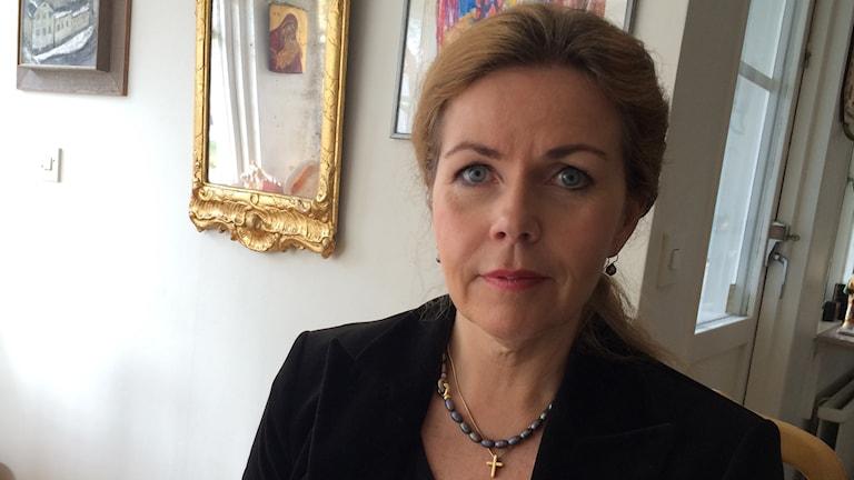 Cecilia Wikström (FP). Foto: Stefan Hesserud Persson/Sveriges Radio