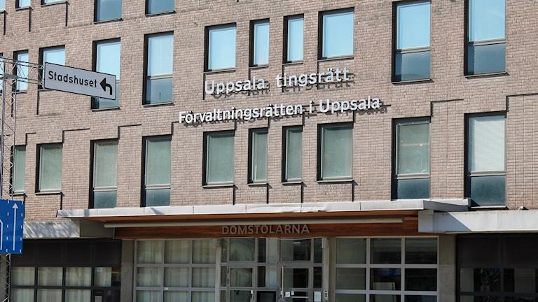 Uppsala tingsrätt och förvaltningsrätten. Foto: Erik Thyselius/Sveriges Radio