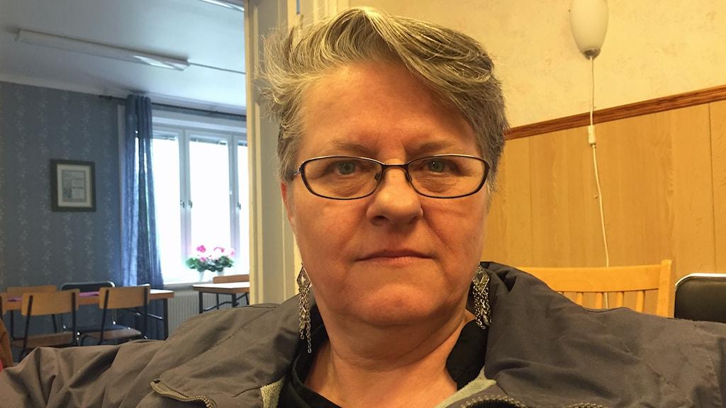 Lidija Sincek, hyresgäst i Knivstabostäder. Foto: Cecilia Ingvarsson/Sveriges Radio
