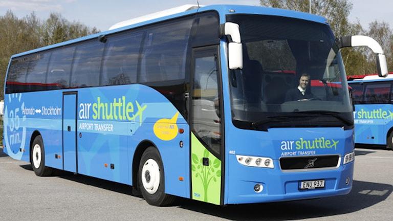 Air Shuttle tar upp konkurrensen om resenärerna till och från Arlanda. Foto: Air Shuttle