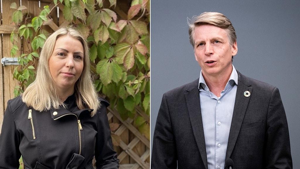 Två politiker.